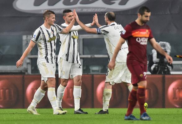 Ronaldo 'nổ súng', Juventus hạ Roma  - Ảnh 2.