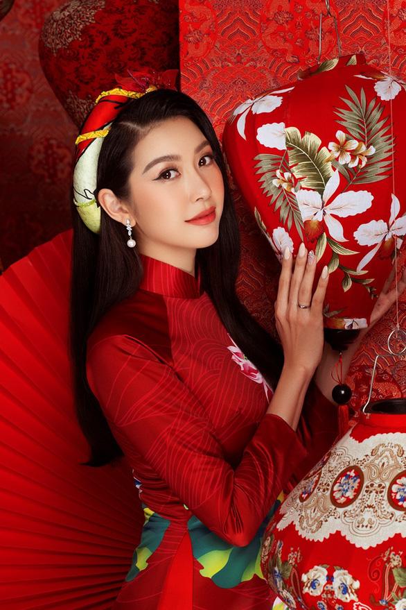 Khánh Vân, Kim Duyên, Thúy Vân, Hoàng My gửi thông điệp bình an cho Tân Sửu - Ảnh 3.