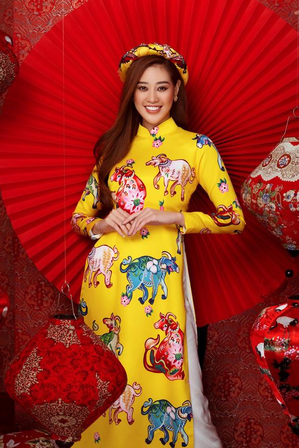 Khánh Vân, Kim Duyên, Thúy Vân, Hoàng My gửi thông điệp bình an cho Tân Sửu - Ảnh 2.