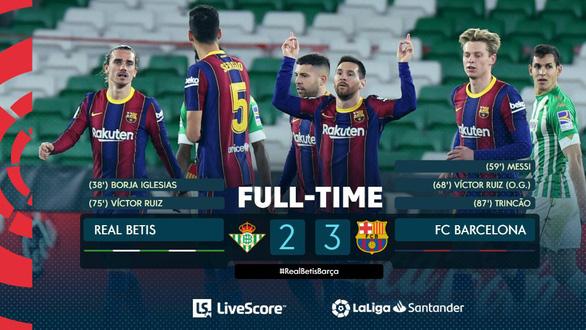 Vừa vào sân từ ghế dự bị Messi ghi bàn giúp Barca thoát nạn - Ảnh 4.