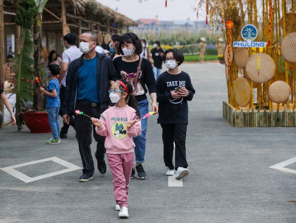 Mở cửa đường hoa Home Hanoi Xuan 2021 - Ảnh 8.