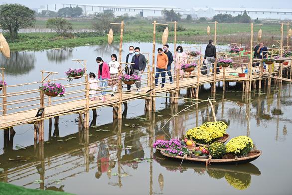 Mở cửa đường hoa Home Hanoi Xuan 2021 - Ảnh 3.