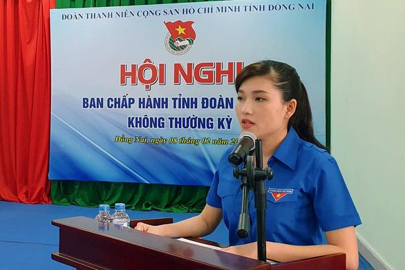Chị Hồ Hồng Nguyên được bầu làm bí thư Tỉnh đoàn Đồng Nai - Ảnh 1.
