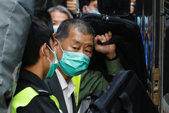 Ông trùm truyền thông Hong Kong Jimmy Lai bị từ chối bảo lãnh - Ảnh 1.