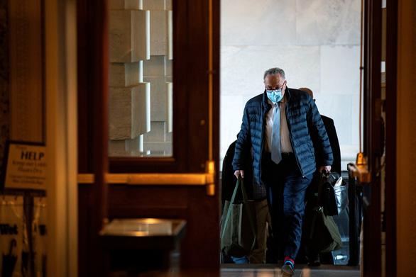 Thượng viện Mỹ đạt thỏa thuận về các quy tắc cho phiên xử luận tội ông Trump - Ảnh 1.