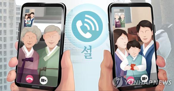 Cấm tụ tập 5 người trở lên, kể cả gia đình, Hàn Quốc khuyến khích Tết sum vầy qua... video - Ảnh 1.