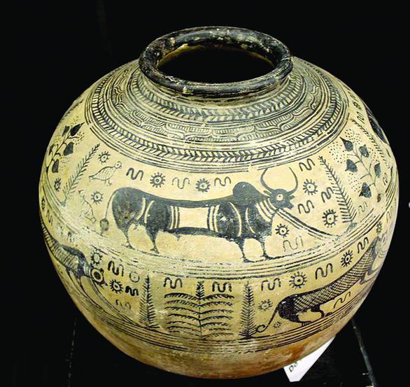 Con trâu trong nghệ thuật tạo hình phương Đông - Ảnh 3.