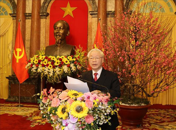 Tổng bí thư, Chủ tịch nước: Phát huy tinh thần yêu nước, bản lĩnh và trí tuệ Việt Nam - Ảnh 1.