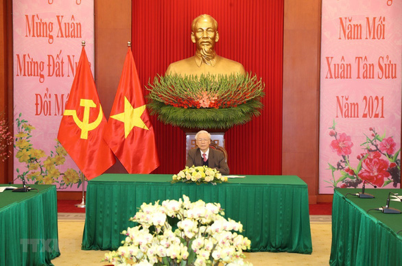 Ông Tập Cận Bình chúc tết người dân Việt Nam - Ảnh 1.
