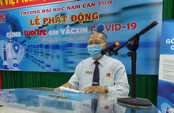Thầy trò Đại học Nam Cần Thơ tham gia góp vắc xin COVID-19 - Ảnh 2.