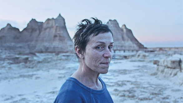Frances McDormand đóng trong phim Nomadland - Ảnh: Variety