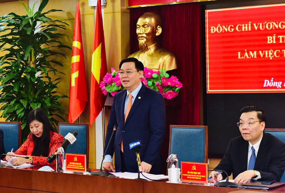 Đống Đa vỡ quy hoạch 110.000 dân, bí thư Hà Nội yêu cầu 'nói không' với dự án chiếm nhiều đất - Ảnh 1.