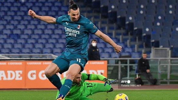 Ibrahimovic tịt ngòi, AC Milan vẫn giành trọn 3 điểm trước Roma - Ảnh 2.