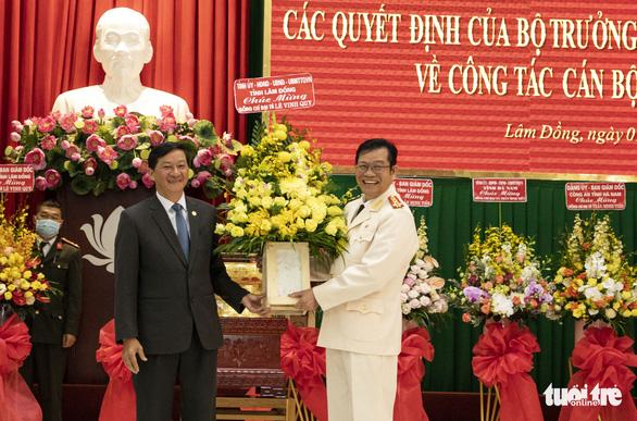 Đại tá Trần Minh Tiến làm giám đốc Công an tỉnh Lâm Đồng - Ảnh 2.