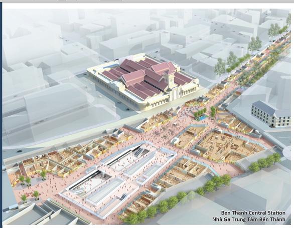 Cuối năm 2021 hoàn trả mặt đường Lê Lợi sau hơn 4 năm rào kín làm metro - Ảnh 5.