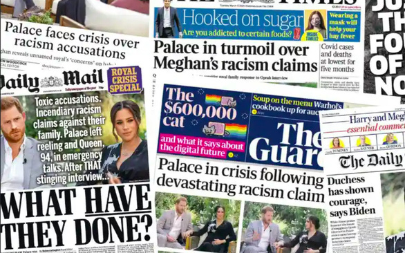 Bị Meghan tố phân biệt chủng tộc, Hoàng gia Anh nói đang xem xét nghiêm túc - Ảnh 1.