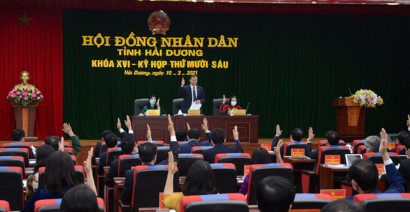 Hải Dương có 2 phó chủ tịch UBND tỉnh mới - Ảnh 1.