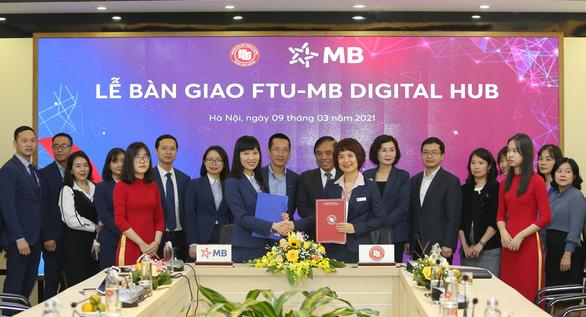 MB – FTU Digital Hub góp phần mở ra trải nghiệm số cho sinh viên Ngoại thương - Ảnh 1.