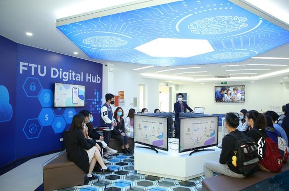 MB – FTU Digital Hub góp phần mở ra trải nghiệm số cho sinh viên Ngoại thương - Ảnh 3.