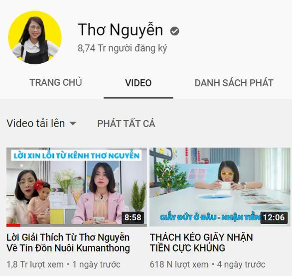 YouTuber Thơ Nguyễn đã nộp khoảng 2 tỉ tiền thuế trong ba năm, tiếp tục rà soát - Ảnh 1.