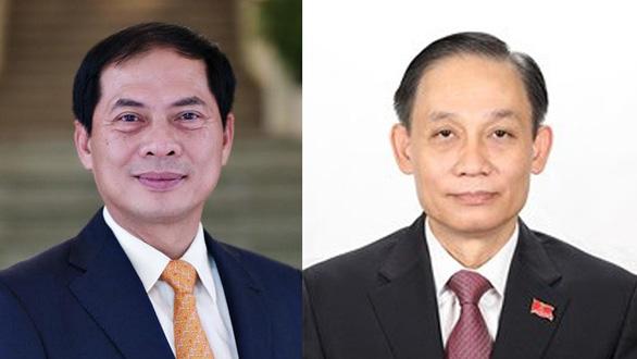 Bộ Ngoại giao giới thiệu 2 thứ trưởng ứng cử đại biểu Quốc hội khóa XV - Ảnh 1.