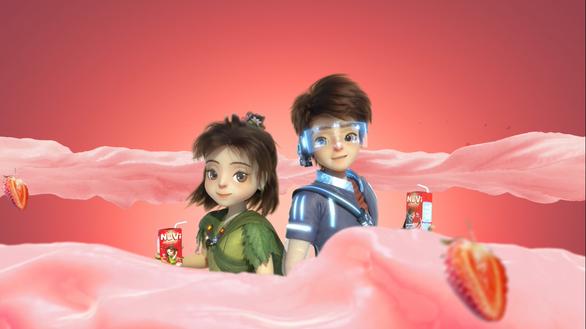 NutiMilk tăng tốc với NuVi - nhãn hiệu dành riêng trẻ em - Ảnh 3.