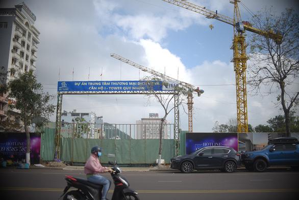 Xây dựng không phép ngay khu đất vàng Quy Nhơn, doanh nghiệp bị phạt 40 triệu đồng - Ảnh 1.