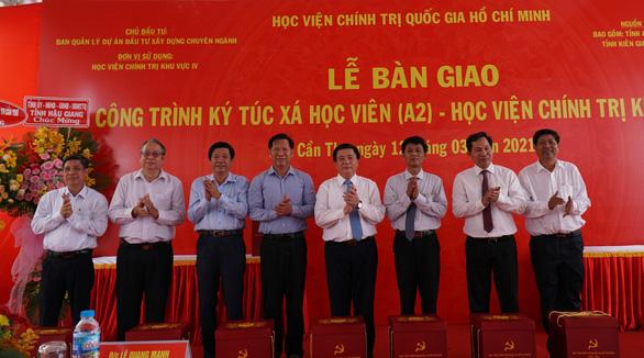 Khánh thành ký túc xá tại Học viện Chính trị quốc gia khu vực IV - Ảnh 1.
