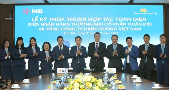 Vietnam Airlines và MB ký kết thỏa thuận hợp tác toàn diện - Ảnh 4.