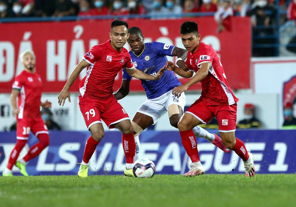 Hà Nội thắng trận đầu tiên ở V-League 2021 - Ảnh 1.