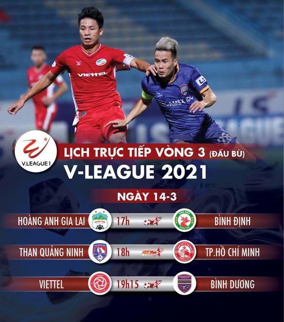 Lịch trực tiếp V-League 14-3: HAGL - Bình Định, Lee Nguyễn đối đầu Quảng Ninh - Ảnh 1.
