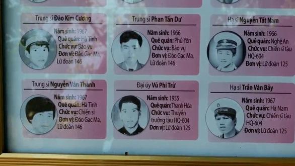 Trường miền núi dựng bảng ghi thông tin, hình ảnh 64 liệt sĩ Gạc Ma giữa sân trường - Ảnh 2.