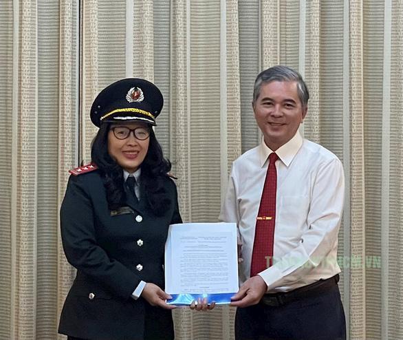 Bà Nguyễn Thị Thanh Thủy làm phó chánh Thanh tra TP.HCM - Ảnh 1.