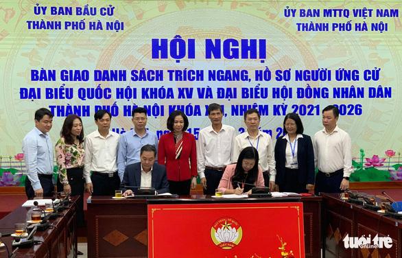 30 người tại Hà Nội tự ứng cử đại biểu Quốc hội khóa XV - Ảnh 1.