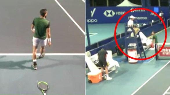 Điểm tin thể thao tối 16-3: Bị phạt, tay vợt nghỉ đấu và dọa giết trọng tài - Ảnh 4.