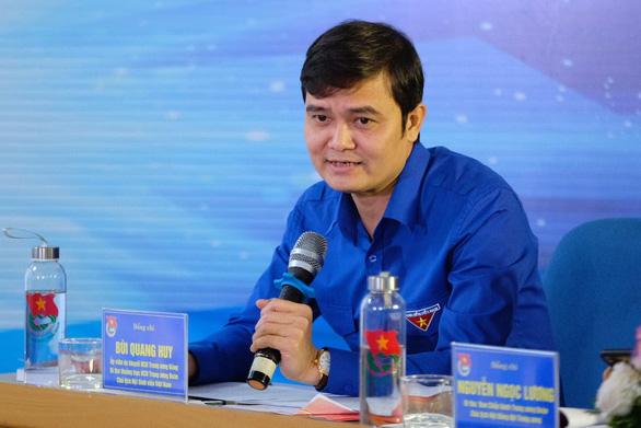 Anh Bùi Quang Huy, bí thư Trung ương Đoàn - Ảnh: NAM TRẦN