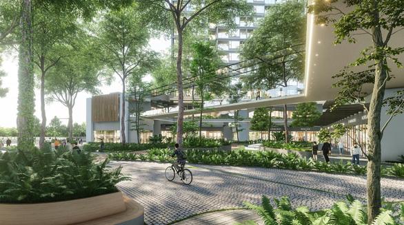 Ecopark làm công viên ngàn tỉ phục vụ 2 toà tháp hạng sang - Ảnh 2.