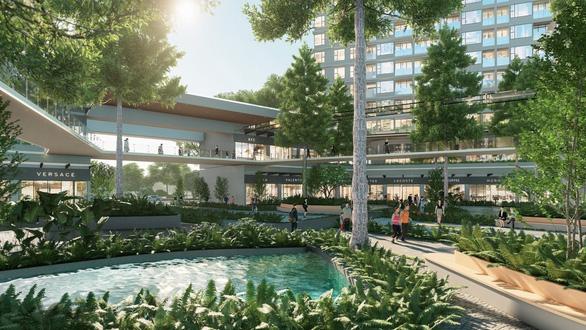 Ecopark làm công viên ngàn tỉ phục vụ 2 toà tháp hạng sang - Ảnh 4.