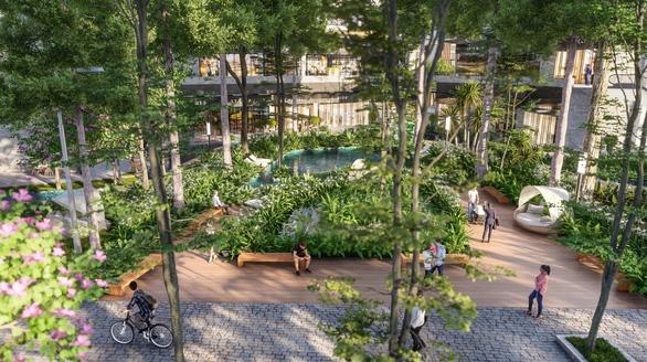 Ecopark làm công viên ngàn tỉ phục vụ 2 toà tháp hạng sang - Ảnh 5.