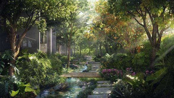Ecopark làm công viên ngàn tỉ phục vụ 2 toà tháp hạng sang - Ảnh 8.