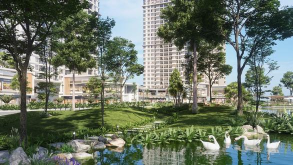 Ecopark làm công viên ngàn tỉ phục vụ 2 toà tháp hạng sang - Ảnh 9.