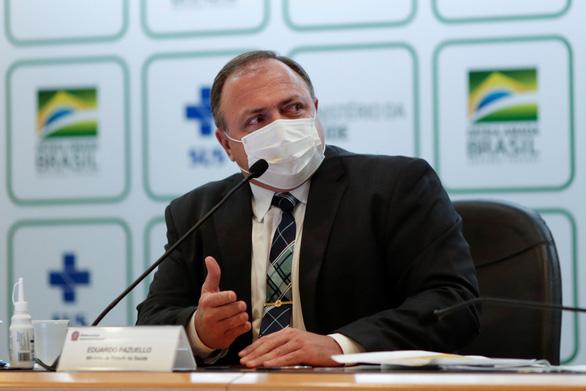Ca nhiễm tăng kỷ lục với 13.000 người chết một tuần, Brazil thay bộ trưởng y tế lần thứ 4 - Ảnh 1.