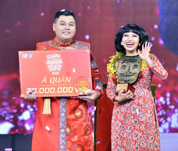 Ngọc Phước đăng quang Cười xuyên Việt 2020 với số điểm tuyệt đối