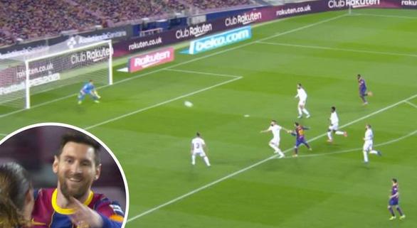 Messi lập cú đúp đưa Barca bám sát Atletico Madrid - Ảnh 2.