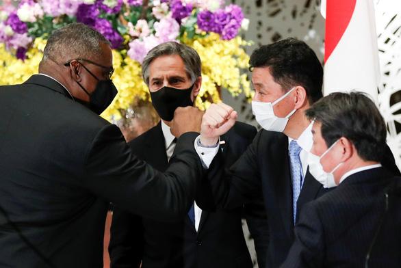 Mỹ, Nhật ra tuyên bố chung: Cảnh báo Trung Quốc cưỡng ép, gây bất ổn - Ảnh 1.