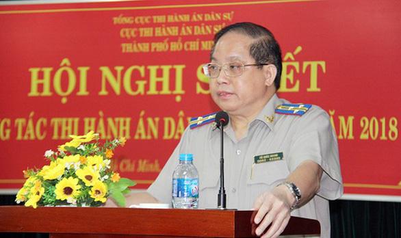 Giáng chức cục trưởng Cục Thi hành án dân sự TP.HCM xuống cục phó - Ảnh 1.