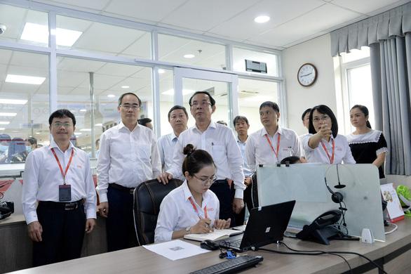 Lãnh đạo TP.HCM thăm Công viên phần mềm Quang Trung - Ảnh 4.