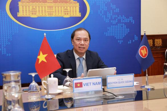 ASEAN và Úc phối hợp chặt chẽ duy trì hòa bình Biển Đông, bàn vụ Myanmar - Ảnh 1.