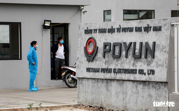 Toàn bộ mẫu xét nghiệm công nhân Công ty POYUN và Kuroda Kagaku âm tính COVID-19 - Ảnh 1.