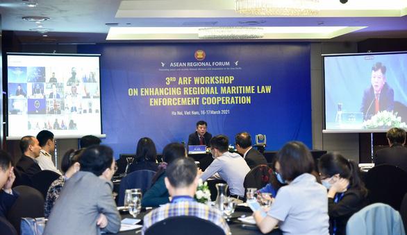 Hội thảo Diễn đàn Khu vực ASEAN lo ngại việc sử dụng vũ lực trên biển - Ảnh 1.